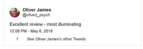 Oliver James-tweet-'The Inflamed Mind_-1