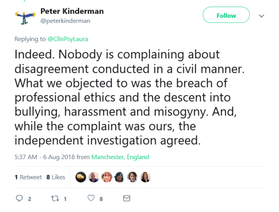 Screenshot_2019-02-08 Peter Kinderman on Twitter Indeed Nobody is complaining about disagreement conducted in a civil manne[...]
