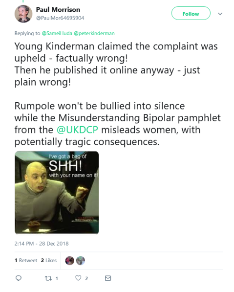 Screenshot_2019-02-22 Paul Morrison on Twitter Young Kinderman claimed the complaint was upheld - factually wrong Then he p[...]
