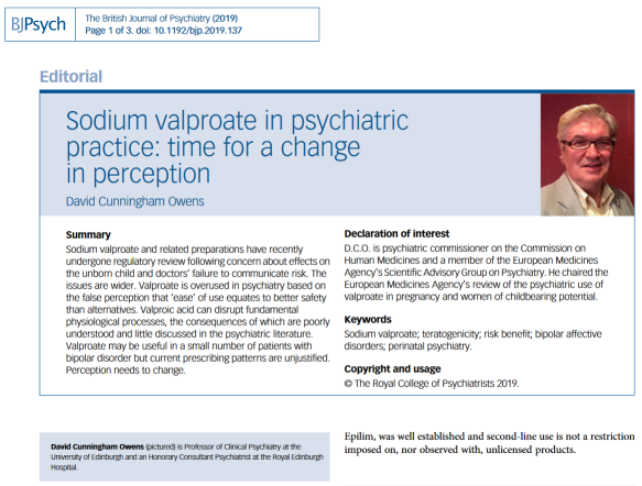 Pharma-psychiatry, bipolar disorder, and the IMMDS Review (1